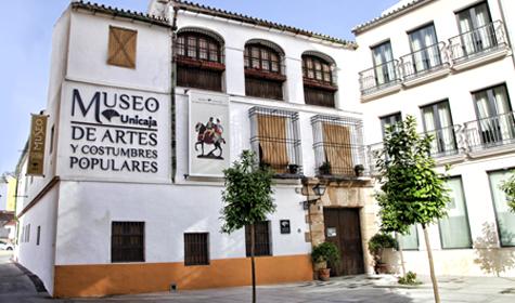Fachada Museo Unicaja de Artes y Costumbres Populares