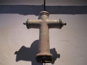 Cruz cerámica